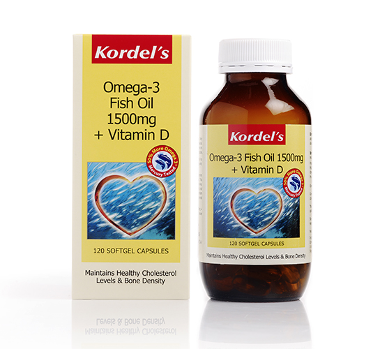 Kordel s omega 3 fish oil 1500mg vitamin d kordel 39 s for Advantages of fish oil